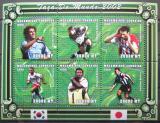 Poštovní známky Mosambik 2001 MS ve fotbale Mi# 1871-76 Kat 10€