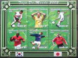 Poštovní známky Mosambik 2001 MS ve fotbale Mi# 1859-64 Kat 10€