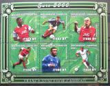 Poštovní známky Mosambik 2001 ME ve fotbale Mi# 1956-61