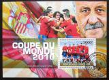 Poštovní známka Togo 2010 MS ve fotbale Mi# Block 549 Kat 12€