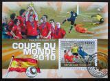 Poštovní známka Togo 2010 MS ve fotbale Mi# Block 548 Kat 12€