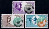 Poštovní známky Niger 1974 MS ve fotbale Mi# 419-21
