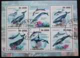 Poštovní známky Svatý Tomáš 2009 Velryby Mi# 4242-46