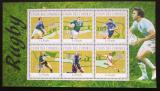 Poštovní známky Komory 2010 Rugby Mi# 2775-80 Kat 10€