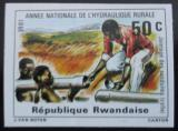 Poštovní známka Rwanda 1981 Vodovod neperf. Mi# 1154 B