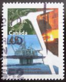 Poštovní známka Kanada 1998 Hornictví a metalurgie Mi# 1675