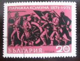 Poštovní známka Bulharsko 1971 Pařížská komuna Mi# 2071