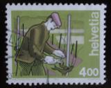 Poštovní známka Švýcarsko 1994 Vinař Mi# 1523