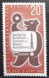 Poštovní známka Západní Berlín 1961 Berlínský medvěd Mi# 217