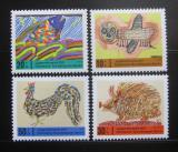 Poštovní známky Západní Berlín 1971 Dětské kresby Mi# 386-88