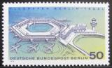 Poštovní známka Západní Berlín 1974 Letiště Berlin-Tegel Mi# 477