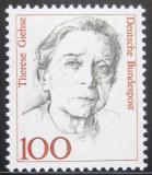 Poštovní známka Německo 1988 Therese Giehse, herečka Mi# 1390