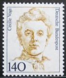 Poštovní známka Německo 1989 Cécile Vogt Mi# 1432
