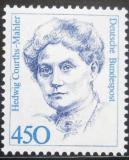 Poštovní známka Německo 1992 H. Courts-Mahler, spisovatelka Mi# 1614