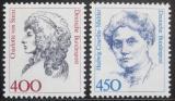 Poštovní známky Německo 1992 Slavné ženy, ročník Kat 12.50€