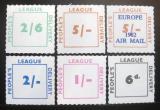 Poštovní známky Velká Británie 1962 People's League Delivery