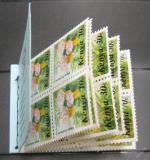 Sešitek Keňa 1983 Květiny Kat $15