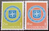 Poštovní známky Lucembursko 1959 NATO Mi# 604-05