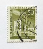 Poštovní známka Západní Berlín 1956 Elektrárna Mi# 150