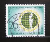Poštovní známka Západní Berlín 1957 Federace veteránů Mi# 177