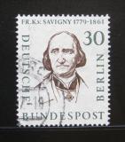 Poštovní známka Západní Berlín 1957 Friedrich Karl von Savigny Mi# 170