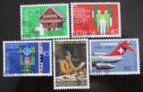 Poštovní známky Švýcarsko 1981 Výročí a události Mi# 1191-95