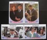 Poštovní známky Tuvalu 1986 Královská svatba Mi# 377-81