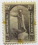 Poštovní známka Havaj 1883 Král Kamehameha Mi# 32 Kat 180€