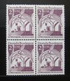 Poštovní známky Německo 1966 Lowenberg, čtyřblok Mi# 503