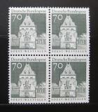 Poštovní známky Německo 1967 Osthofen, čtyřblok Mi# 497