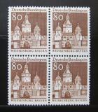 Poštovní známky Německo 1967 Weissenburg, čtyřblok Mi# 497 Kat 12€