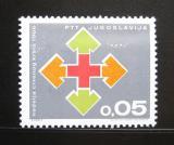 Poštovní známka Jugoslávie 1966 Červený kříž, pošt. Mi# 32
