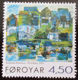 Poštovní známka Faerské ostrovy 2001 Umění, Heinesen Mi# 405