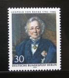 Poštovní známka Západní Berlín 1970 Leopold Ranke, historik Mi# 377