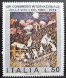 Poštovní známka Itálie 1974 Mezinárodní kongres vína Mi# 1464