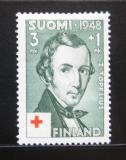 Poštovní známka Finsko 1948 Zachris Topelius Mi# 349