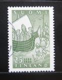 Poštovní známka Finsko 1955 Přijetí křesťanství Mi# 440