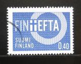 Poštovní známka Finsko 1967 FINEFTA Mi# 619
