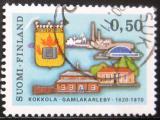 Poštovní známka Finsko 1970 Kokkola, 350. výročí Mi# 681