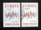 Poštovní známky Finsko 1972 Evropa CEPT Mi# 700-01