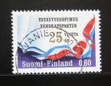 Poštovní známka Finsko 1973 Přátelství se SSSR Mi# 720