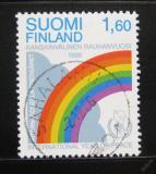 Poštovní známka Finsko 1986 Mezinárodní rok míru Mi# 1004