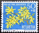 Poštovní známka Švýcarsko 1962 Květiny Mi# 762