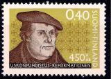 Poštovní známka Finsko 1967 Martin Luther Mi# 629