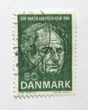 Poštovní známka Dánsko 1969 Martin Andersen Nexo, spisovatel Mi# 482