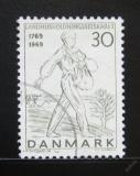 Poštovní známka Dánsko 1969 Rozsévač Mi# 474