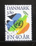 Poštovní známka Dánsko 1985 OSN, 40. výročí Mi# 847