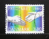 Poštovní známka Dánsko 1986 Mezinárodní rok míru Mi# 866