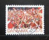 Poštovní známka Dánsko 1992 ME ve fotbale Mi# 1035