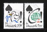 Poštovní známky Dánsko 1994 Ochrana životního prostředí Mi# 1071-72